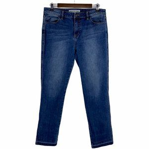 Country Road Stretch Blue Denim Skinny Ankle Jeans